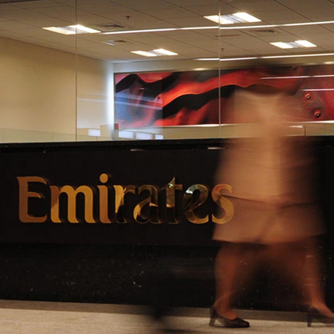 Branding agency work for Emirates, Dubai