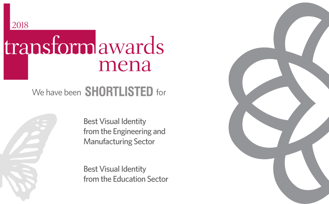 2018 Transform Awards MENA Shortlisted - Branding Agency