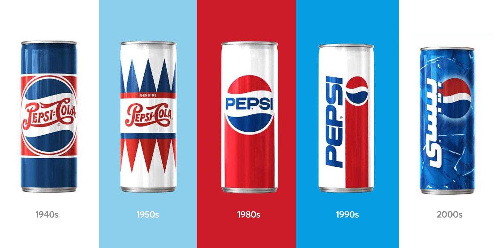 Pepsi Nostalgia branding